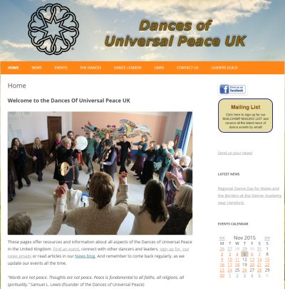 Website: Dances of Universal Peace UK