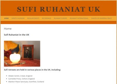Website: Sufi Ruhaniat UK