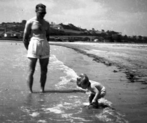 Dad and Richard Par 1950